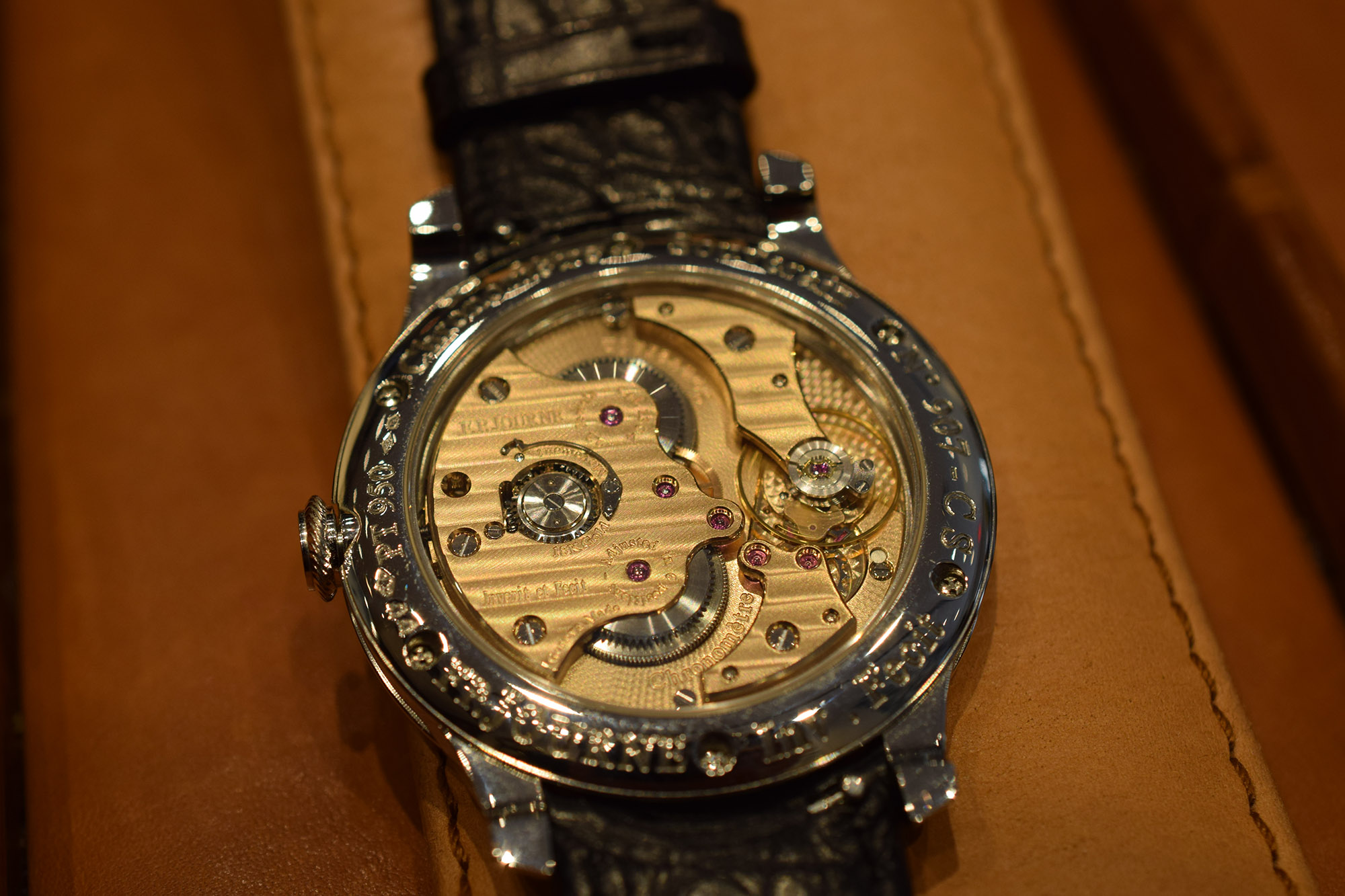 F.P. Journe Chronometre Souverain - Caseback