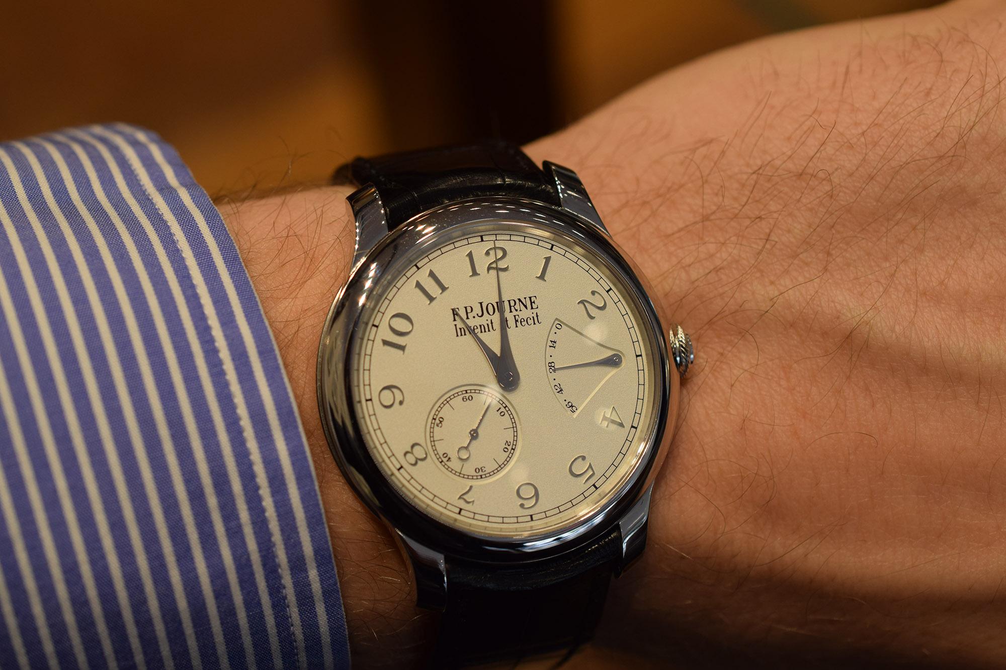 F.P. Journe Chronometre Souverain - Wristshot