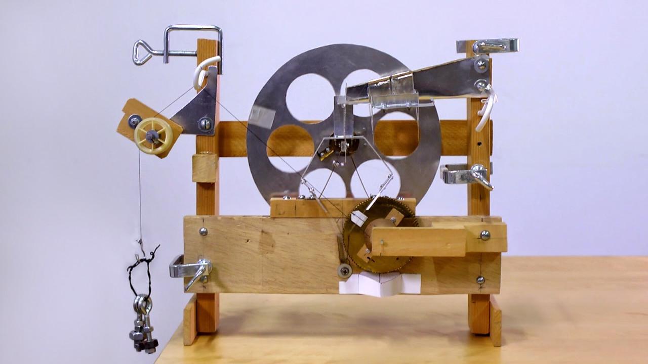 Genequand Prototype (20:1 scale model)