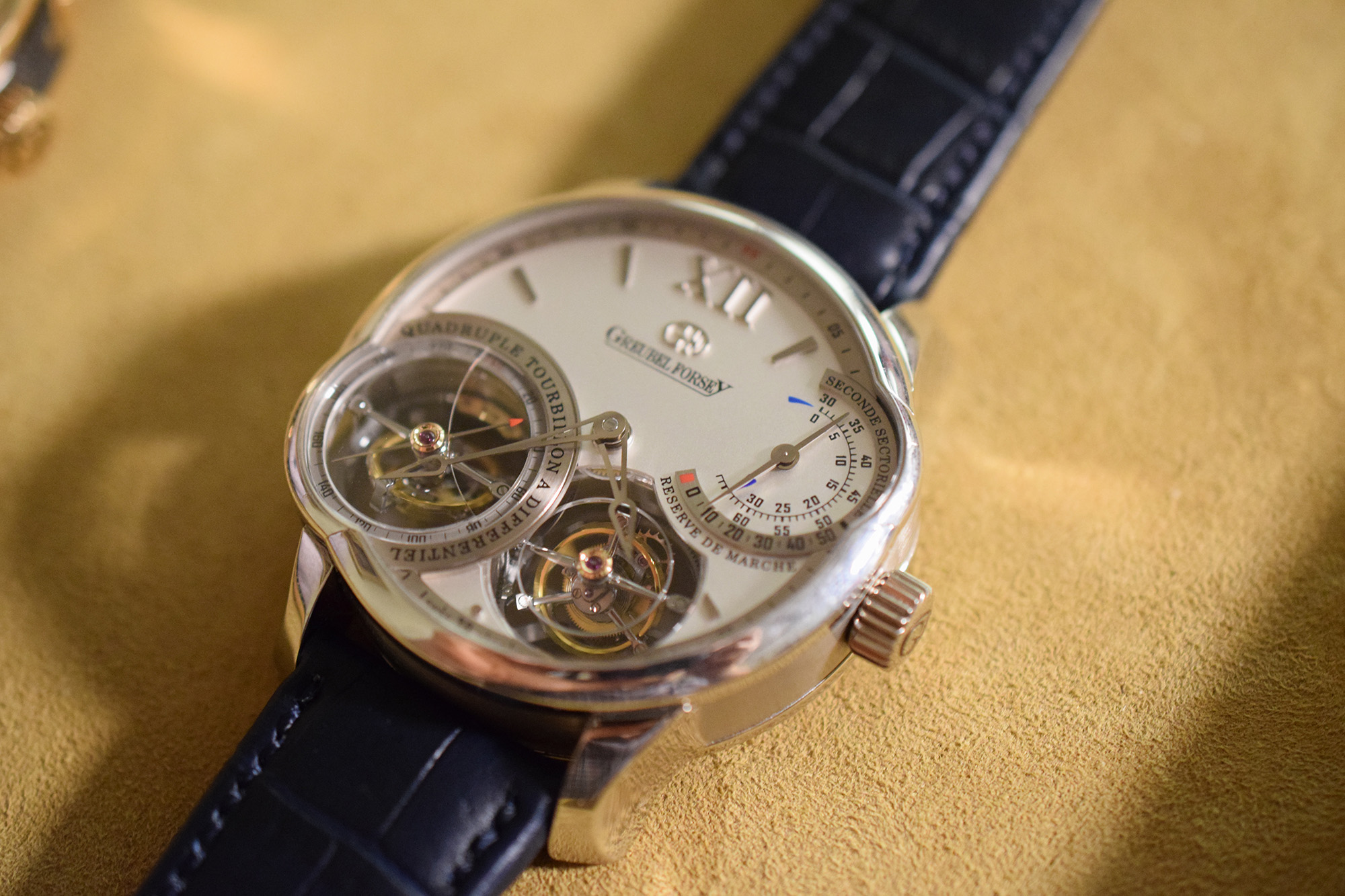 Greubel Forsey Asymmetrical Quadruple Tourbillon