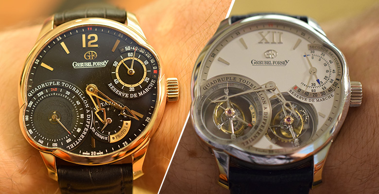 Greubel Forsey Quadruple Tourbillon – Secret vs Asymmetrical