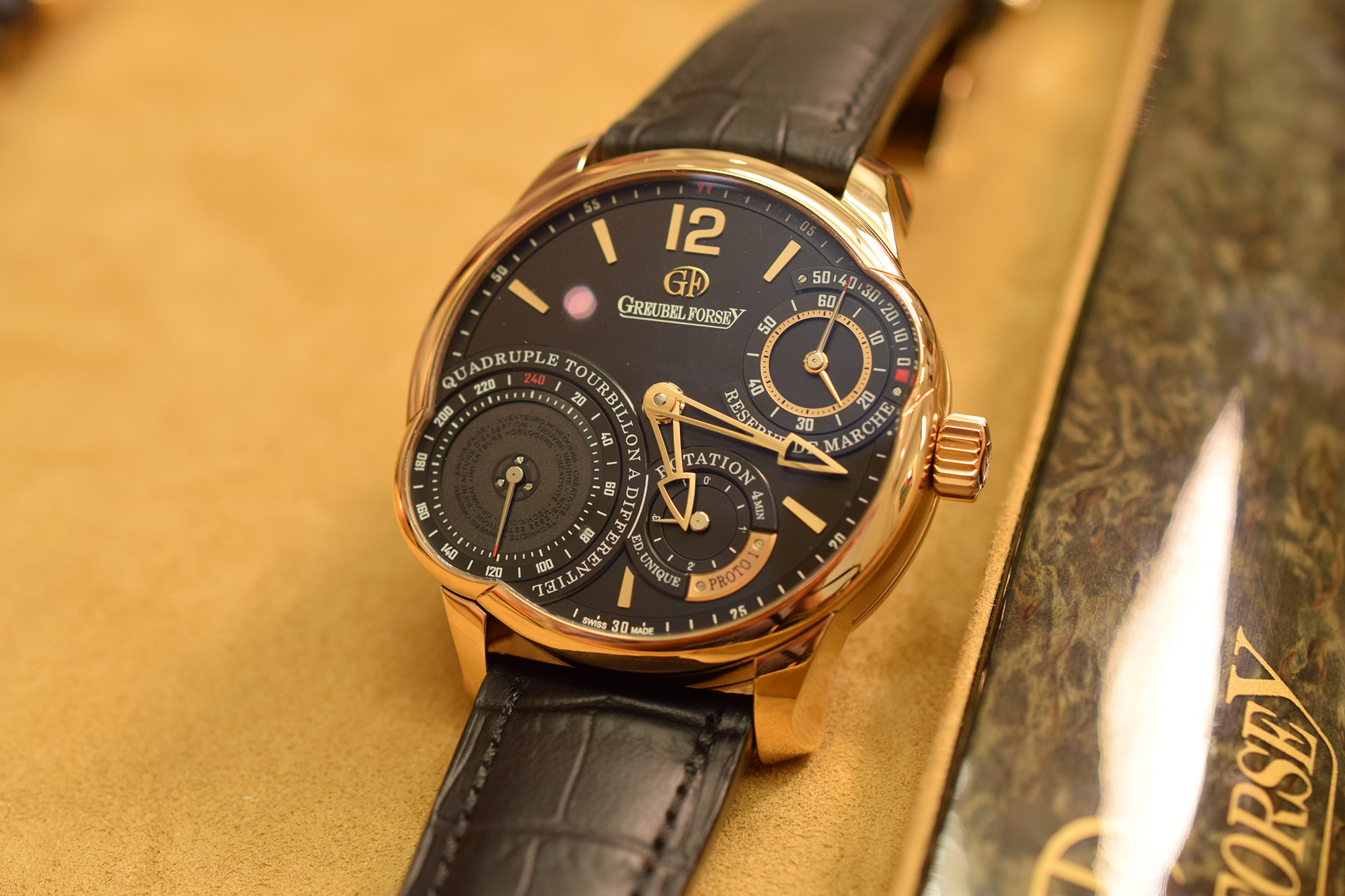 Greubel Forsey Secret Quadruple Tourbillon