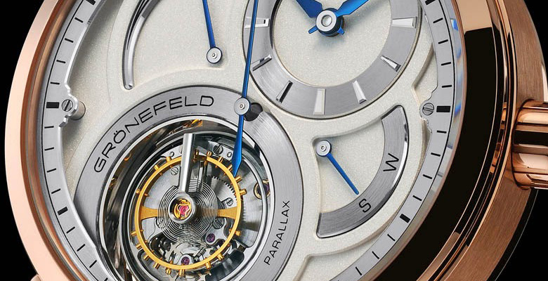 Grönefeld Parallax Tourbillon - Haute Horology from Les Pays Bas !
