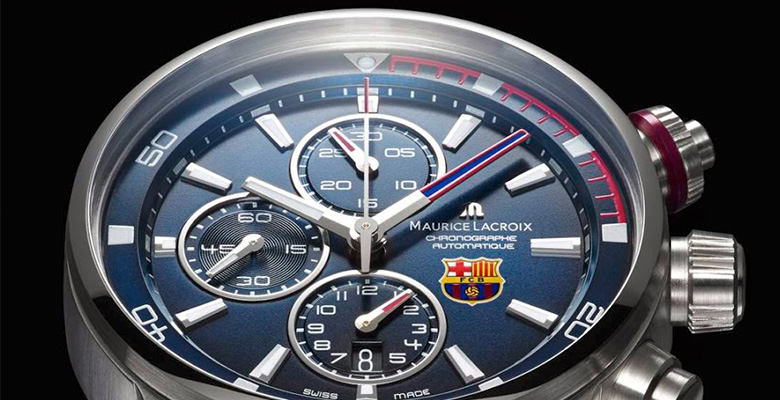 Maurice Lacroix Pontos S Chronograph for FC Barcelona