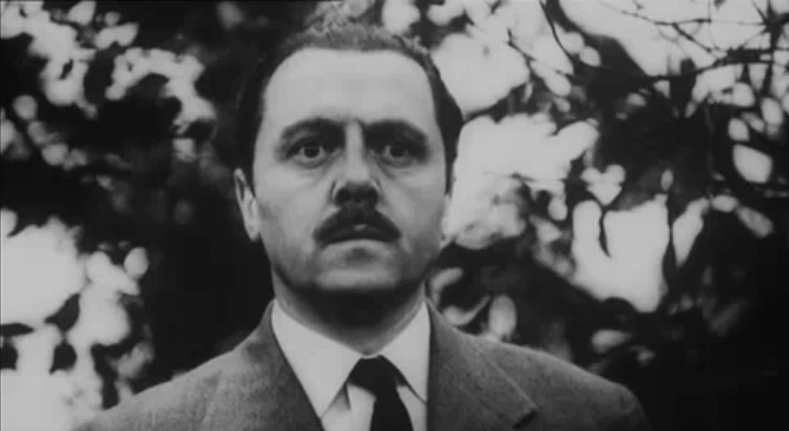"""Sir Richard Attenborough in """"Seance on a wet afternoon"""""""
