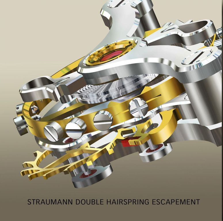 Straumann Double Hairspring Escapement