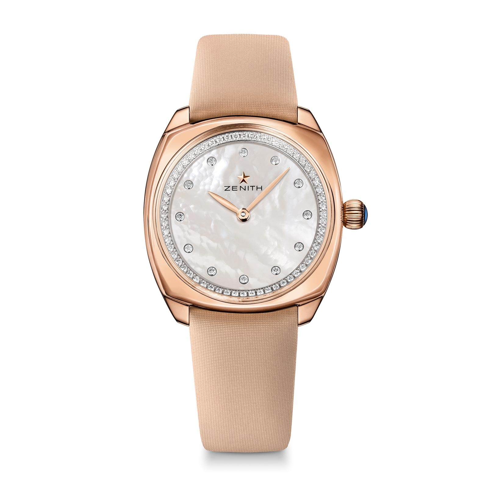 Zenith Star 33mm - Rose Gold Cushion Shaped Case
