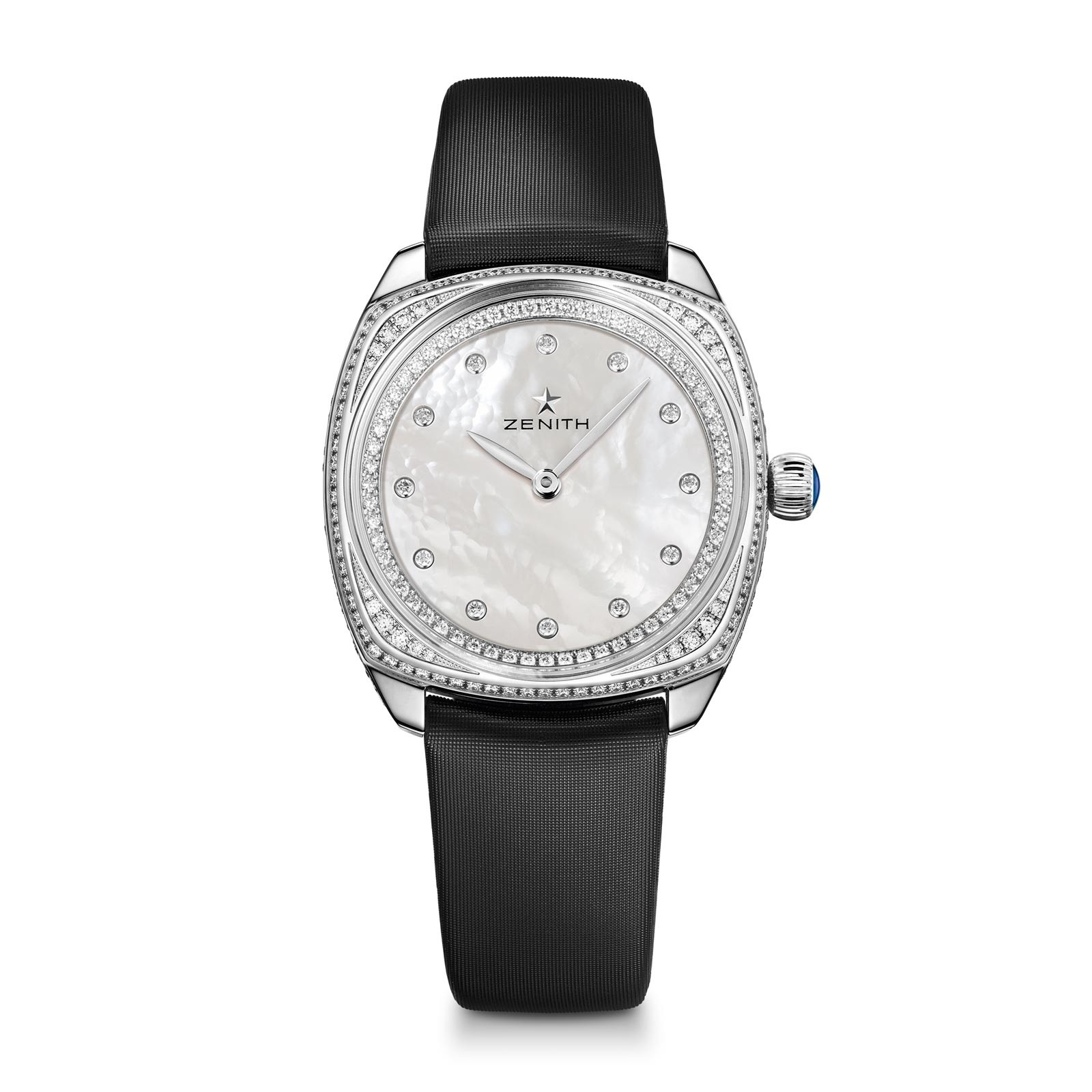 Zenith Star 33mm - White Gold Cushion Shaped Case