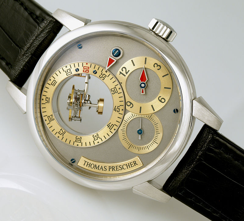 Thomas Prescher Triple Axis Tourbillon
