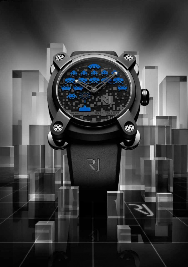 Romain Jerome Space Invaders 40 - Blue Edition