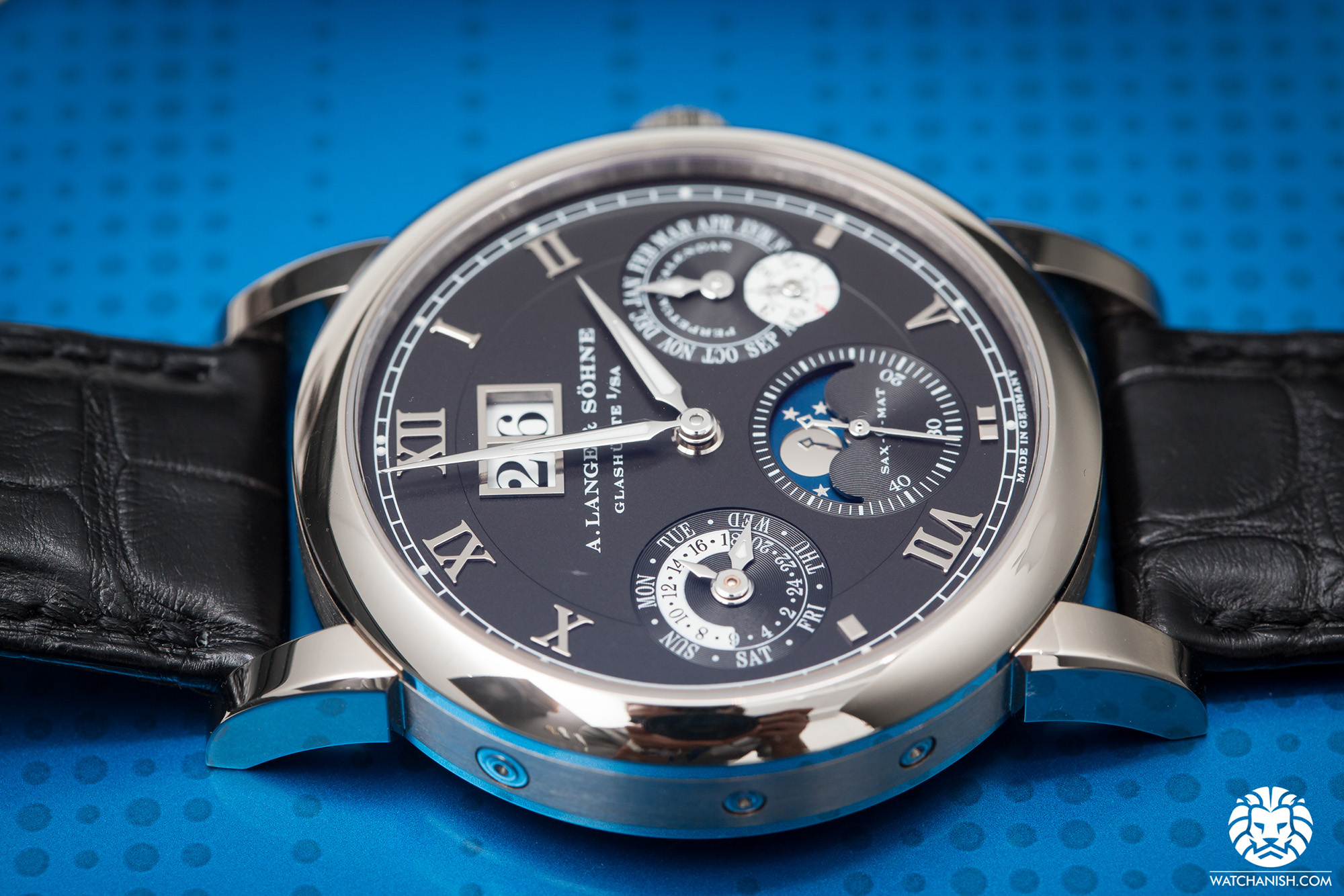 Watches & Wonders 2014 - A. Lange & Söhne Langematik Perpetual Calendar