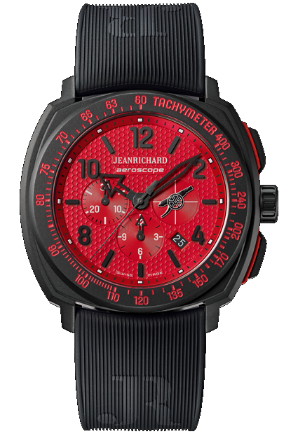 JeanRichard Aeroscope Arsenal FC Limited Edition