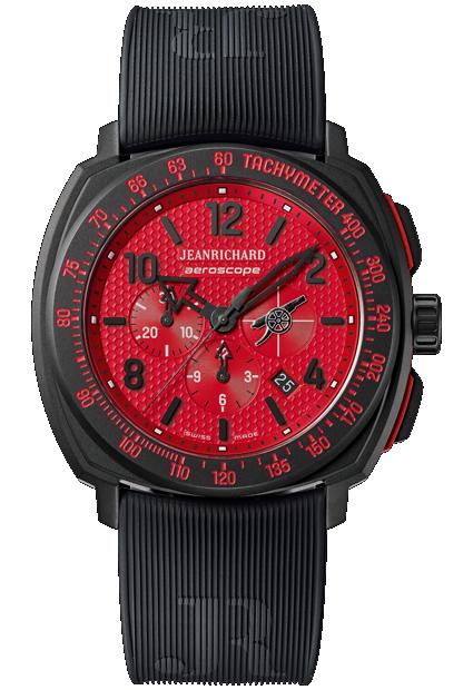 JeanRichard Aeroscope Arsenal FC Limited Edition