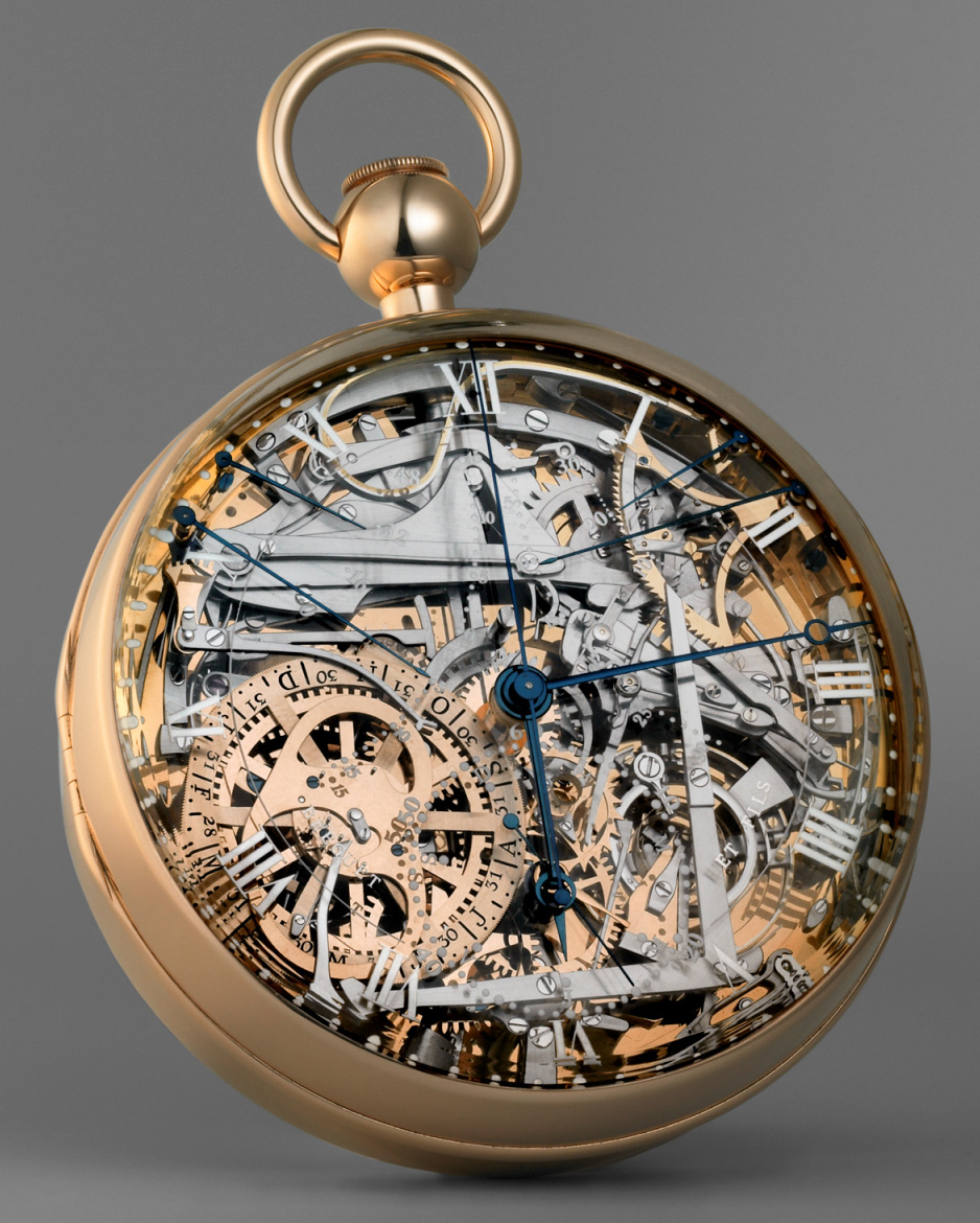 The Breguet No. 160 grand complication, known as the Marie-Antoinette or the Queen