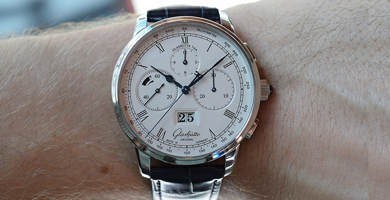Glashütte Original Senator Chronograph Panorama Date Hands-On