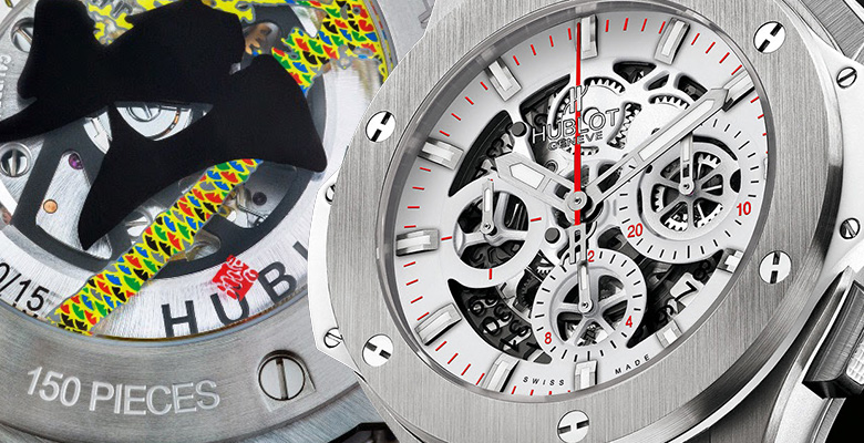 Hublot Aero Bang All White Special Edition Japan