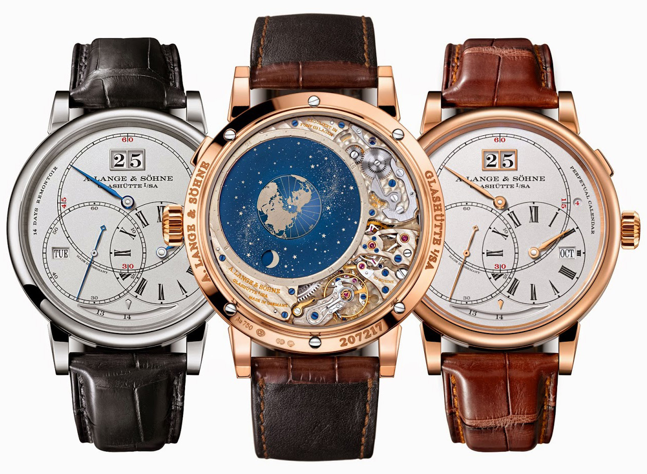 A. Lange & Söhne Richard Lange Perpetual Calendar TerraLuna - Collection