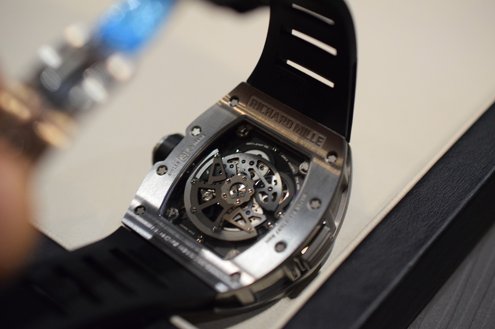 Richard Mille RM 11-02 Flyback Chronograph Dual Time - Caseback