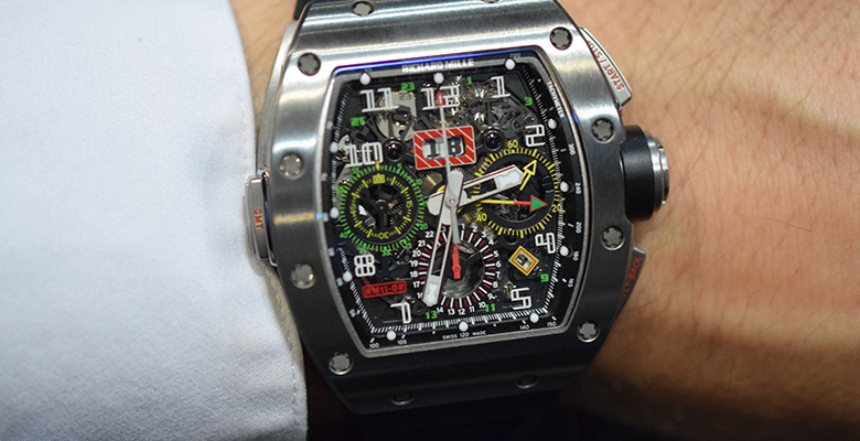 Richard Mille RM 11-02 Flyback Chronograph Dual Time Hands-On