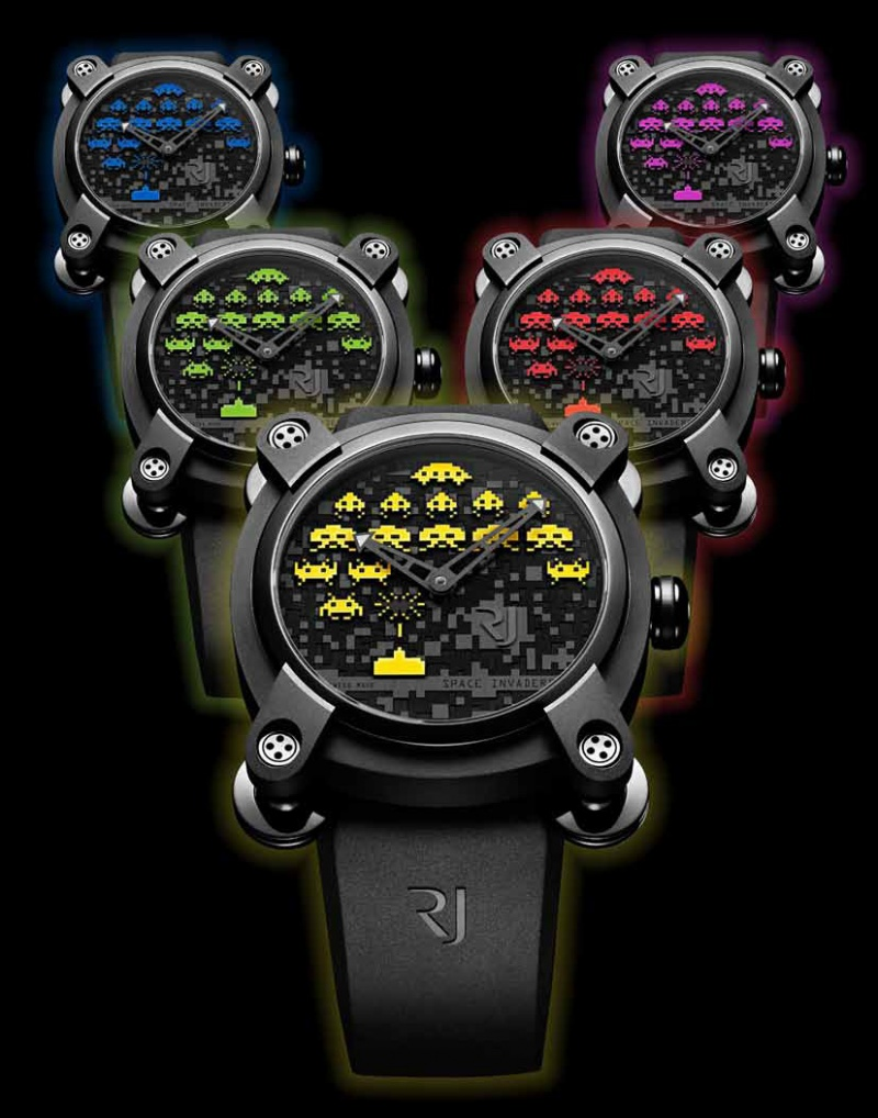 RJ-Romain Jerome Space Invaders - New Collection