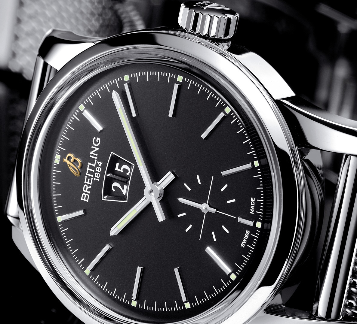 Breitling Transocean 38 - Dial
