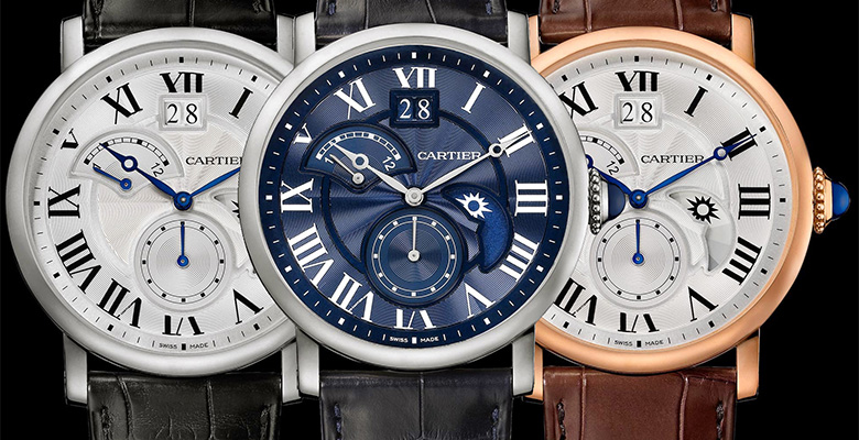 Cartier Rotonde de Cartier Second Time-Zone Day/Night