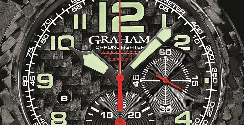 Graham Chronofighter Oversize Superlight Carbon