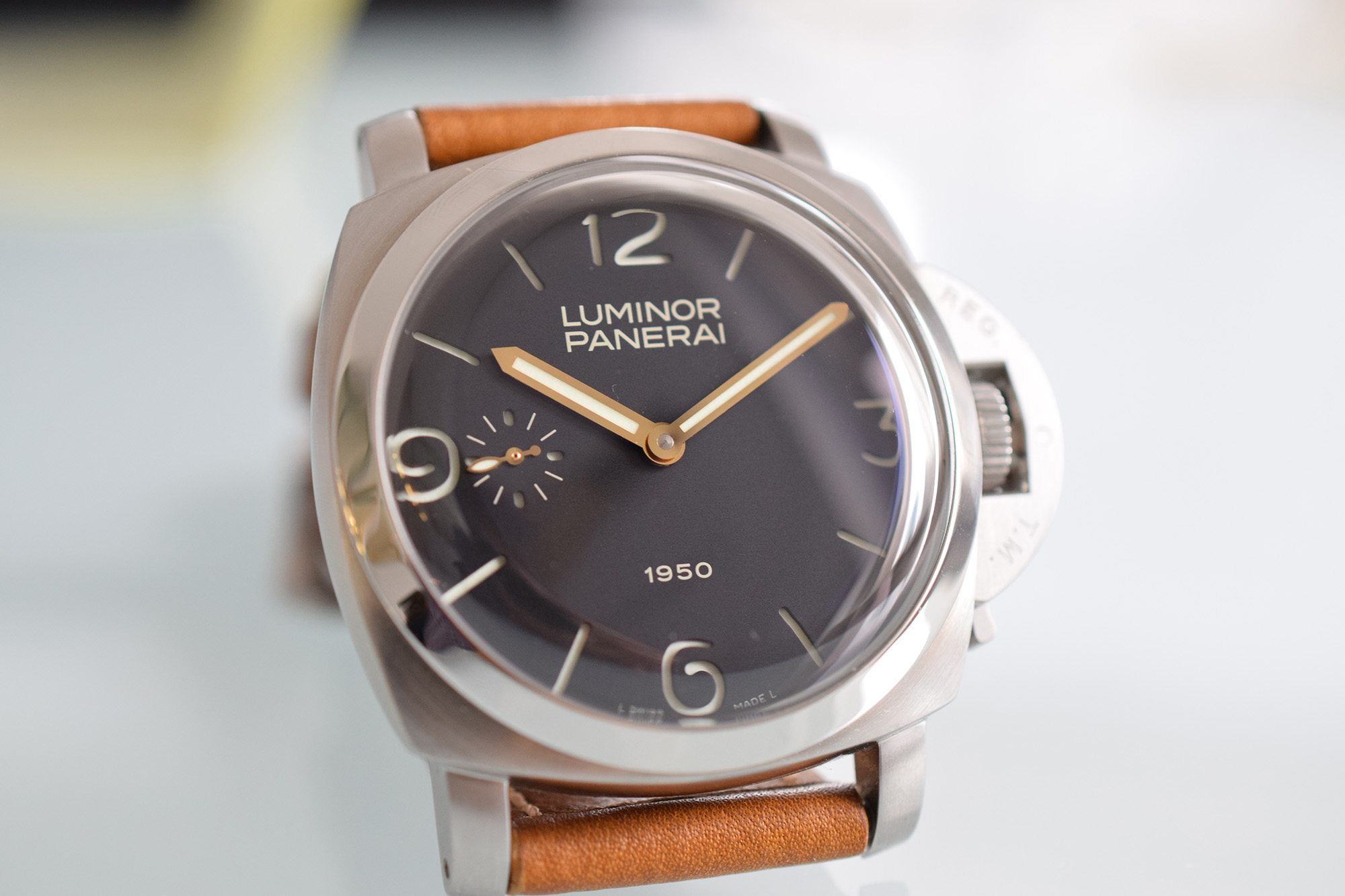 Panerai Luminor 1950 PAM 127 Special Edition