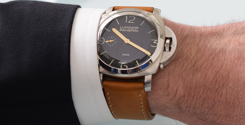 Panerai Luminor 1950 PAM 127 Special Edition Hands-On