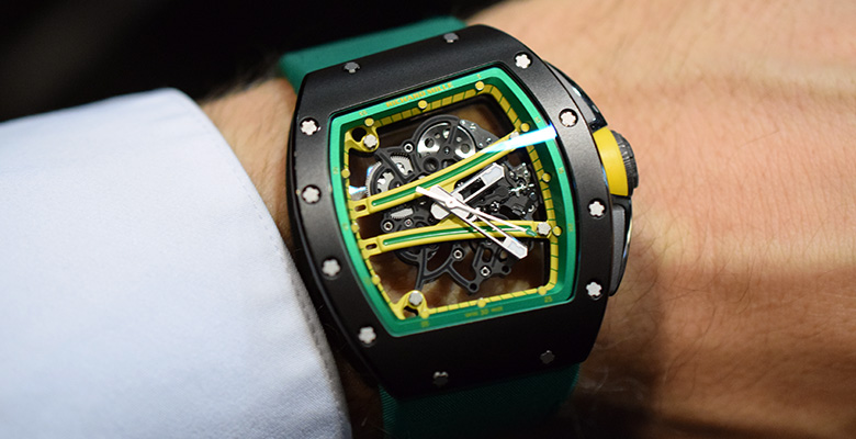 Richard Mille RM 61-01 'Baby Blake' Hands On