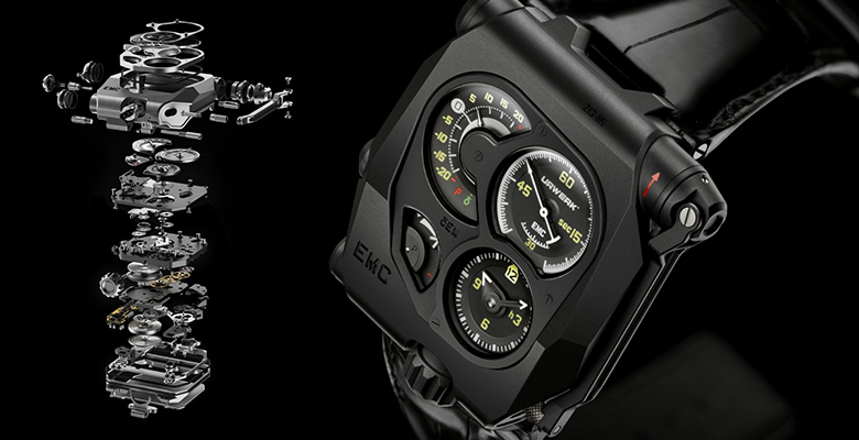 Introducing the Urwerk EMC Black