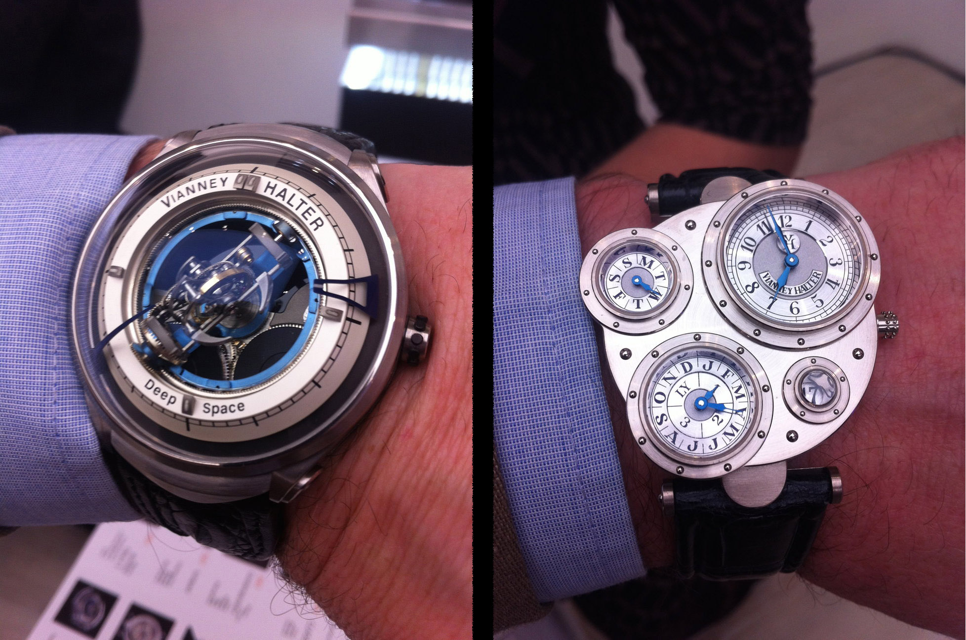 Vianney Halter Deep Space Tourbillon & Antiqua Perpetual Calendar