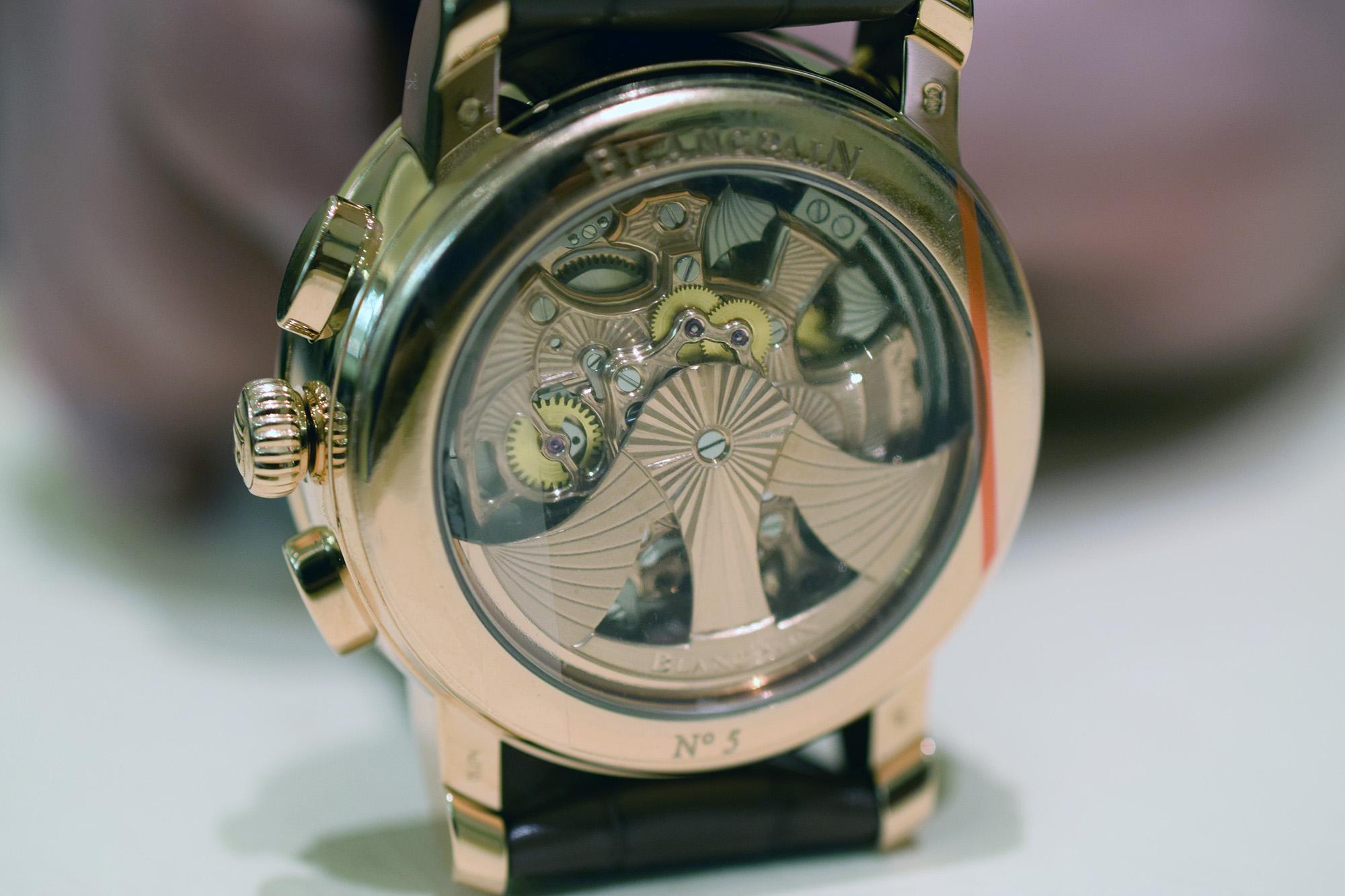 Blancpain Carrousel Répétition Minutes Chronographe Flyback - Caseback