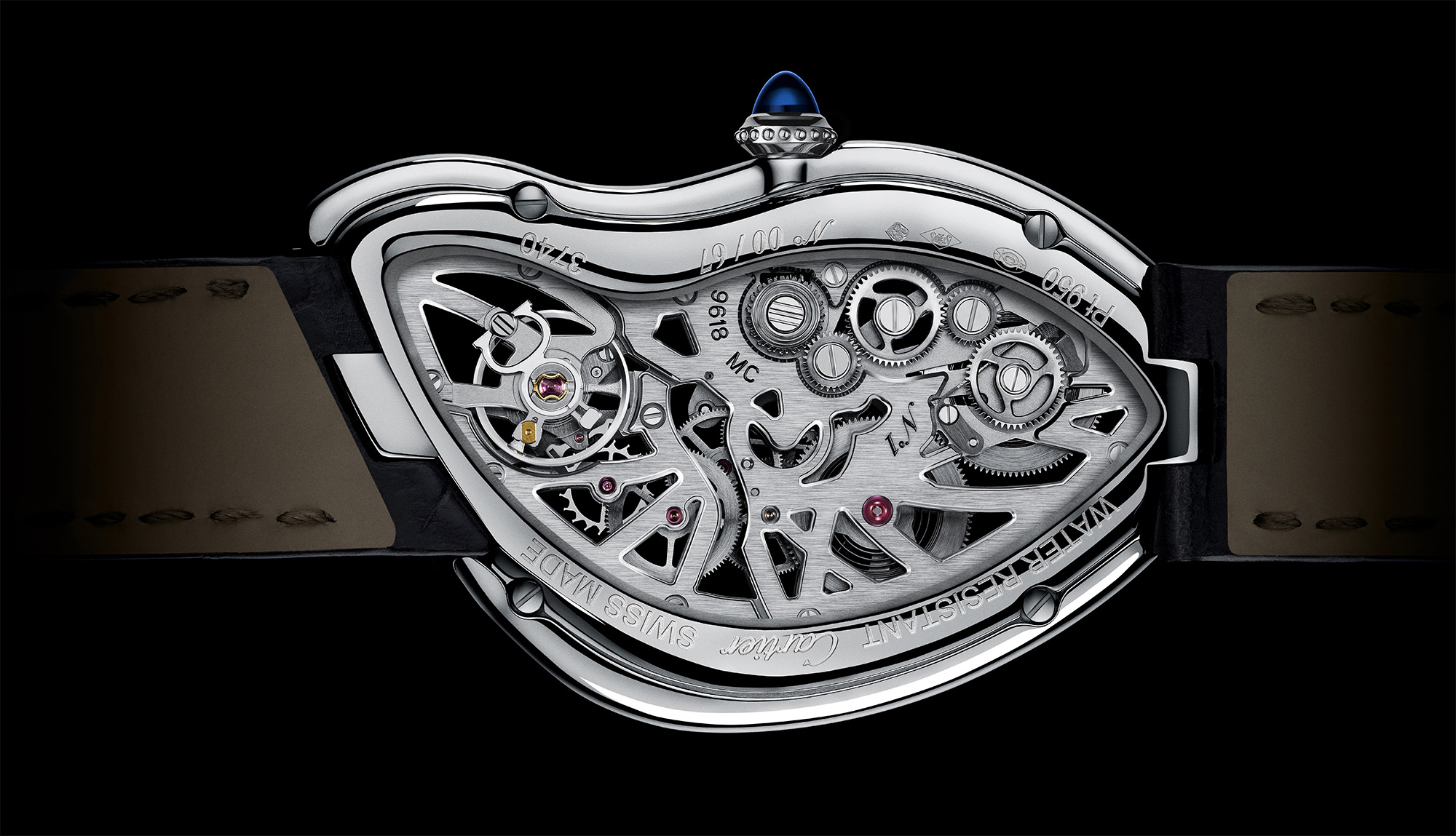 Cartier Crash Skeleton - Caseback