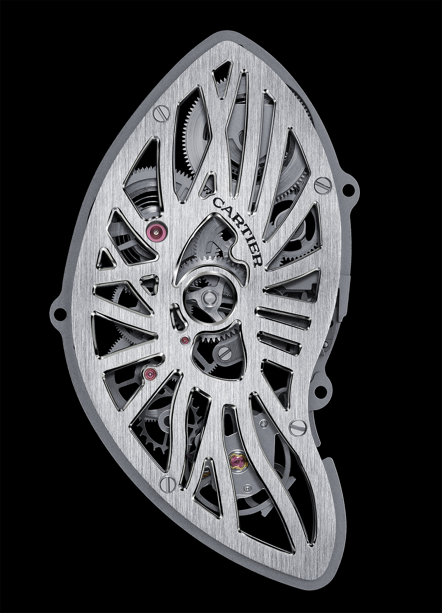 Cartier Crash Skeleton - Calibre 9618 MC Movement