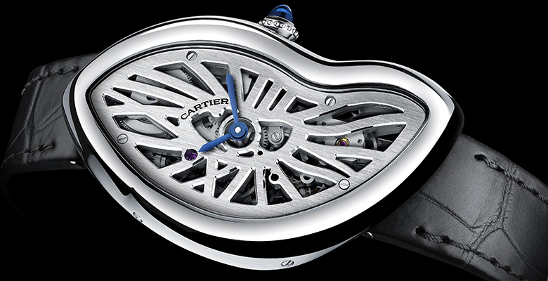 Pre-SIHH 2015: Cartier Crash Skeleton