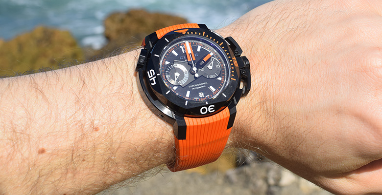 Clerc Hydroscaph Chronograph Hands-On