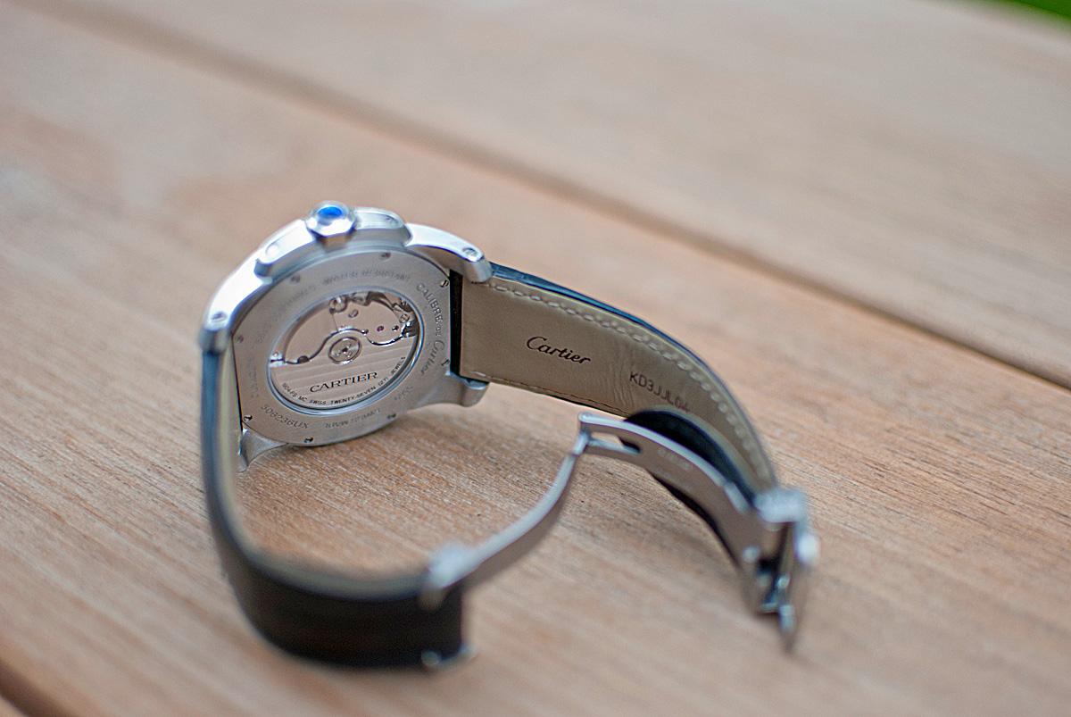 Calibre de Cartier - Caseback