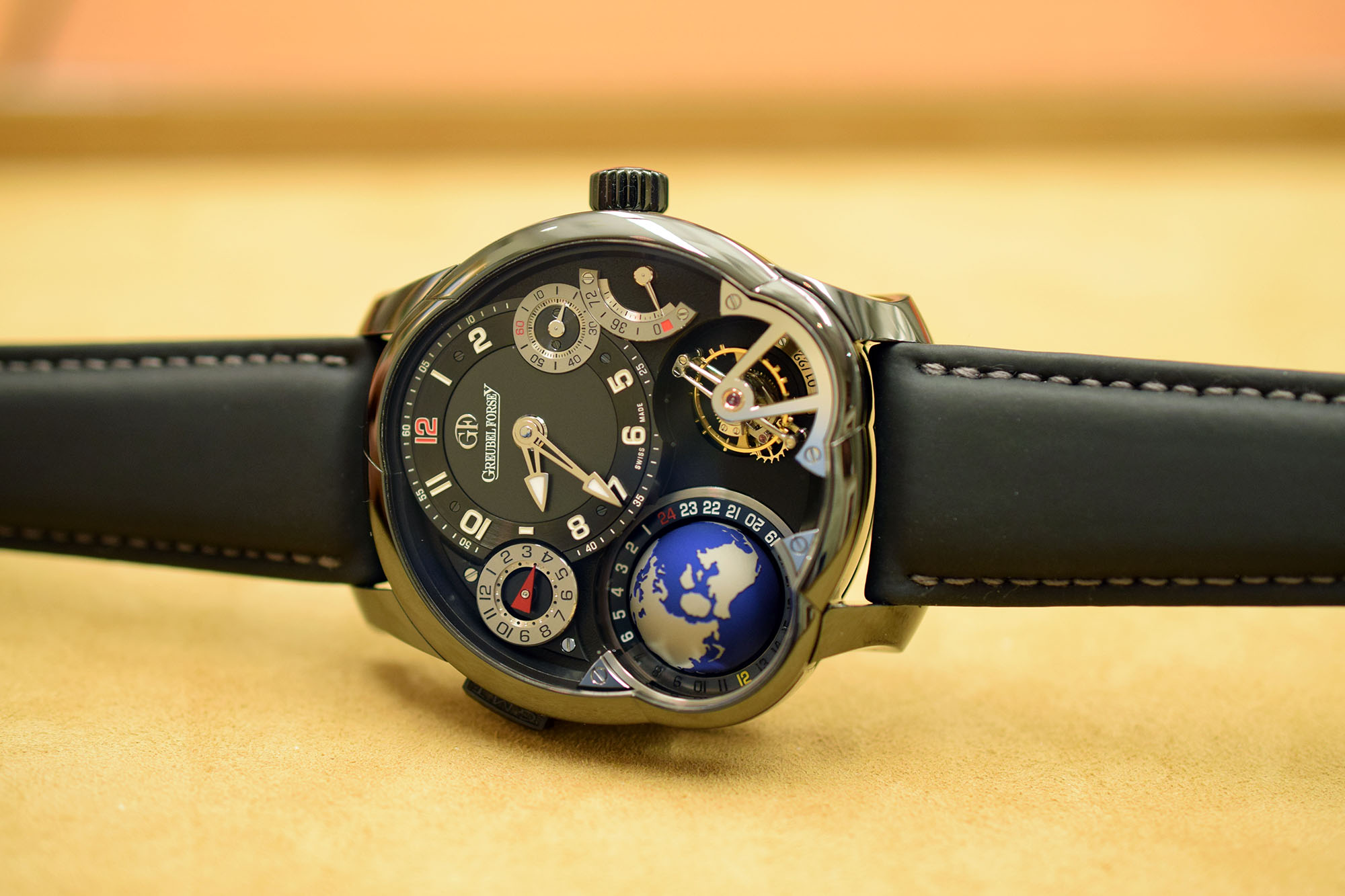 The Greubel Forsey GMT Black