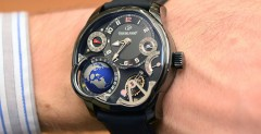 SIHH 2015: The Greubel Forsey GMT Black Hands-On