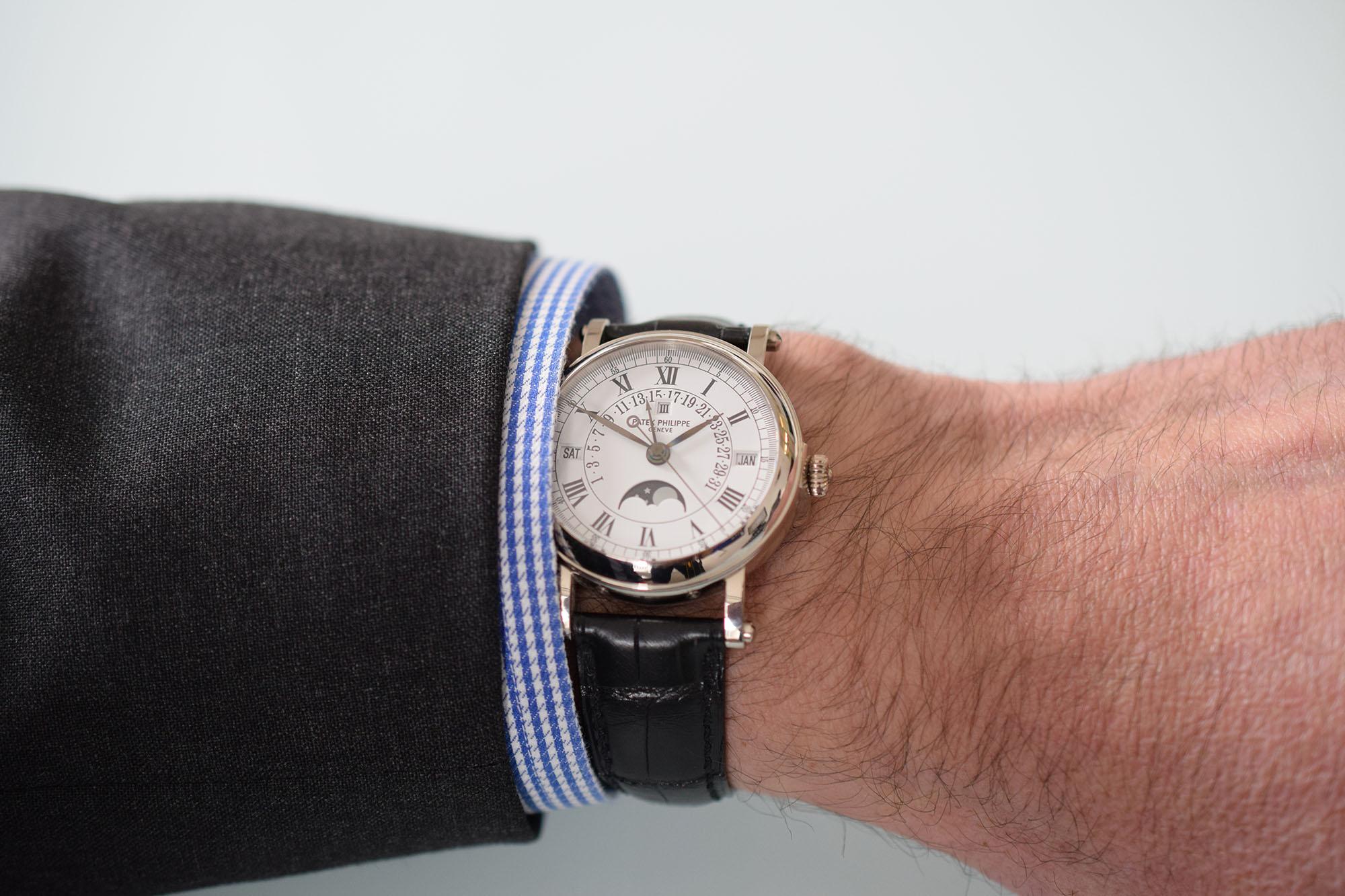 Patek Philippe 5059 - Wristshot