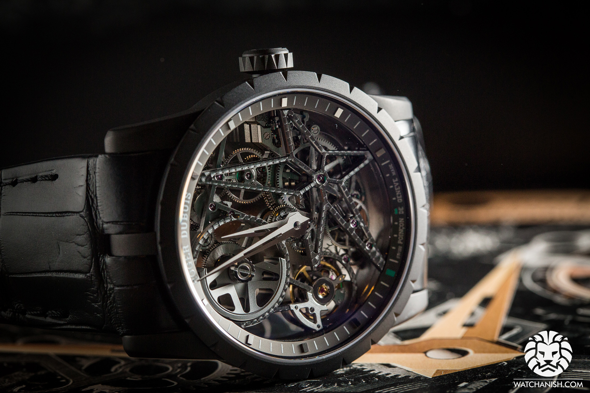 Roger Dubuis Automatic Skeleton - SIHH 2015