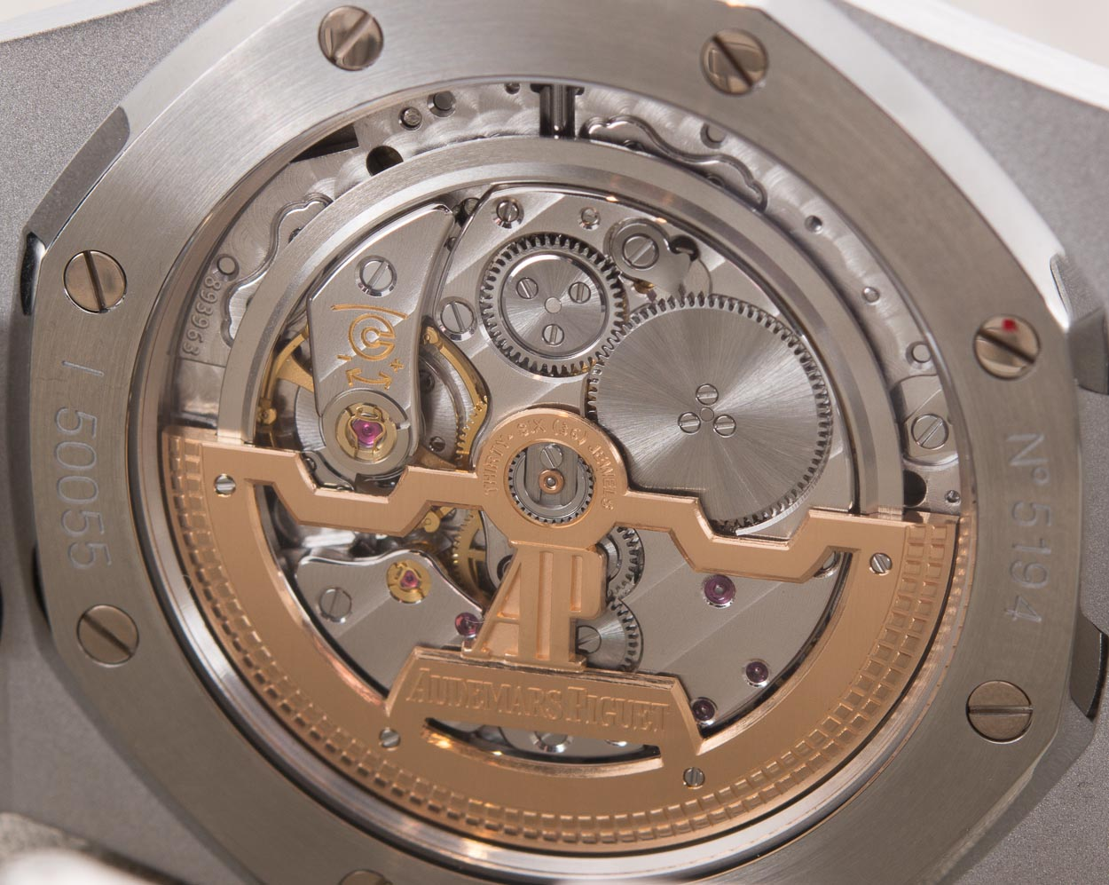 Audemars Piguet Royal Oak 15202ST - Caseback