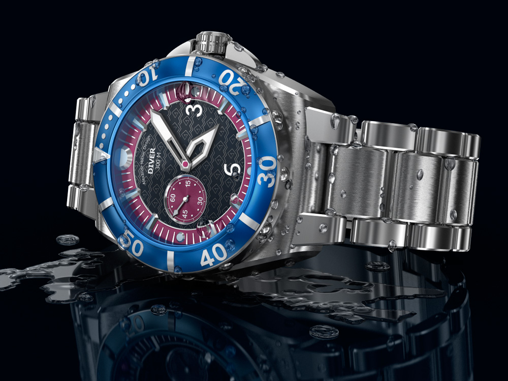 Concept of Dive Watch